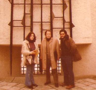 1973. En París con mi tío Fernando y con mi primera mujer, Gloria (3)