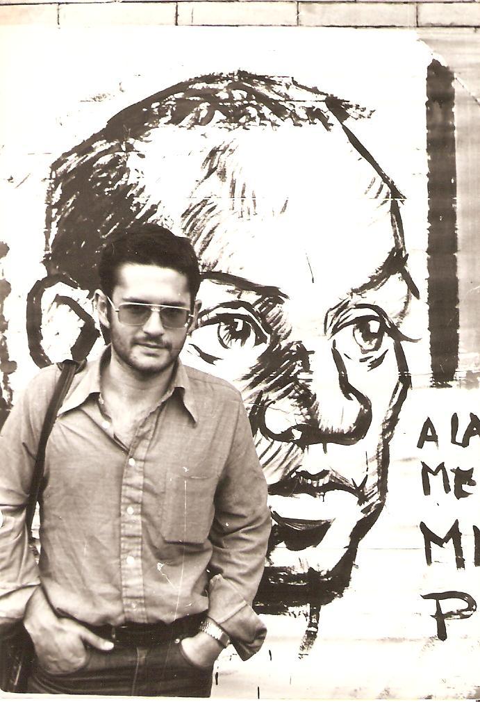 1973. Homenaje a Miguel Hernández en la Universitaria.