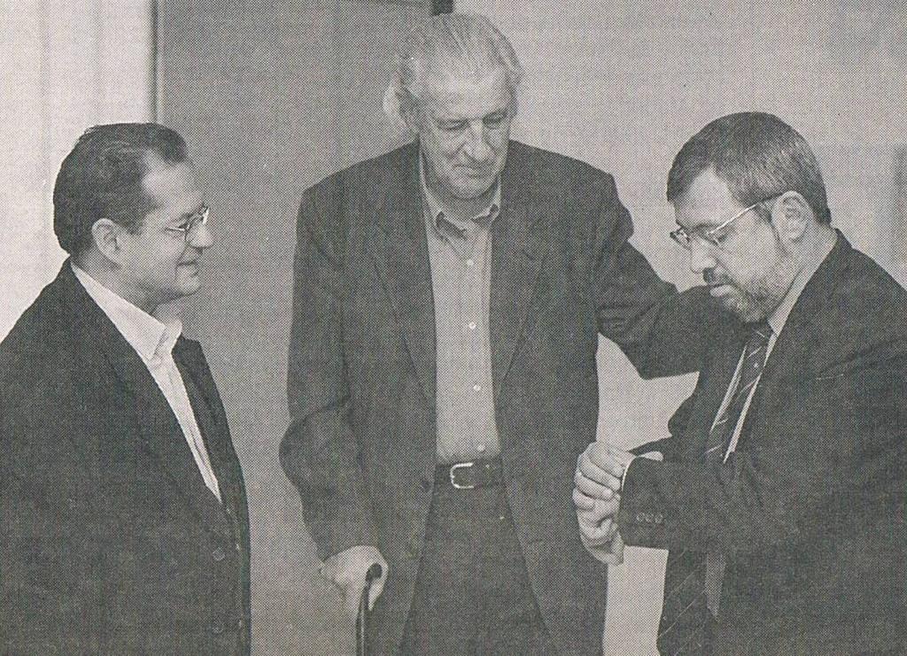 1999.10.16. Con Monleón y Arteta