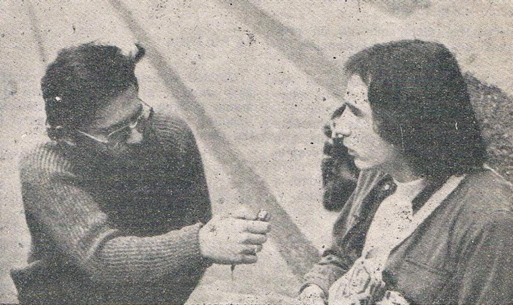 Con Lluís Llach Febrero del 78