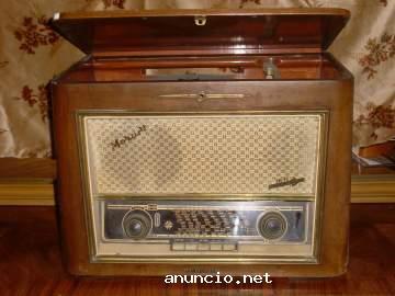 radio-tocadiscos-antigua-telefunken-mozart