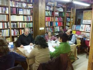 13.11.11 Laboratorio de novela en la librería de Herminio