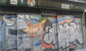 librería cerrada